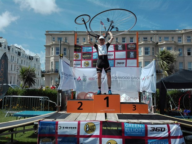 Eastbourne UK 2017 Penny farthing